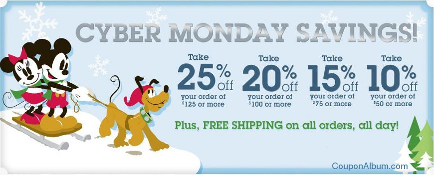 disney store cyber monday sale