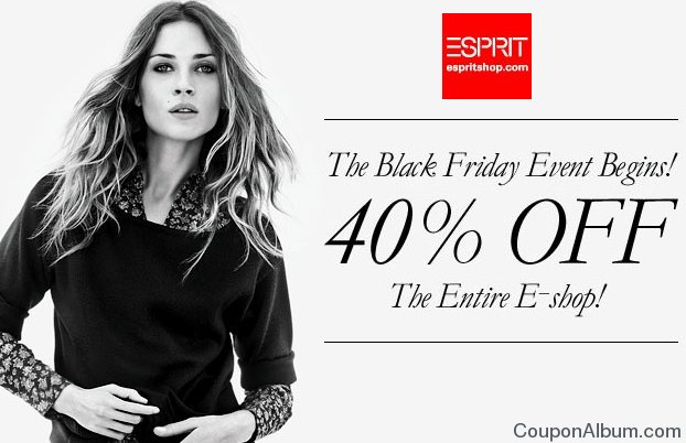esprit black friday event