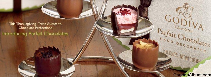 godiva parfait chocolates