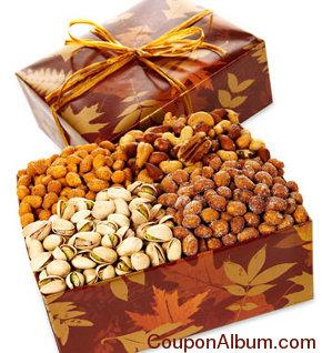 golden leaves nut quartet