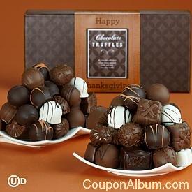 happy thanksgiving truffles