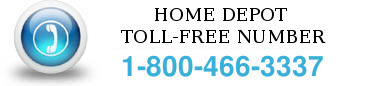home depot toll free number