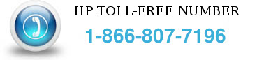 hp toll free number