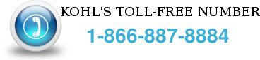 kohls toll free number