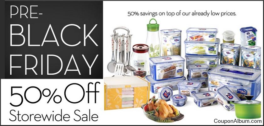 lock-n-lock pre-black friday sale
