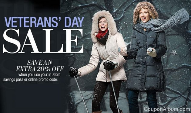 lord and taylor veterans day sale