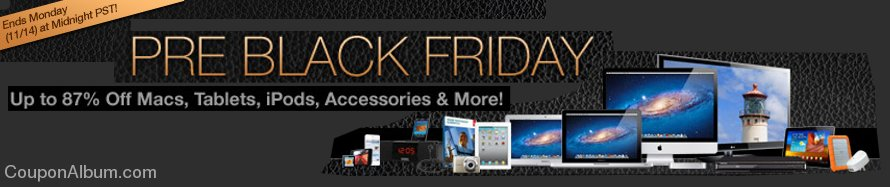 macmall pre-black friday sale