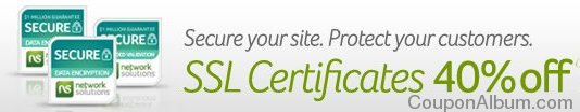 network solutions ssl certificates coupon