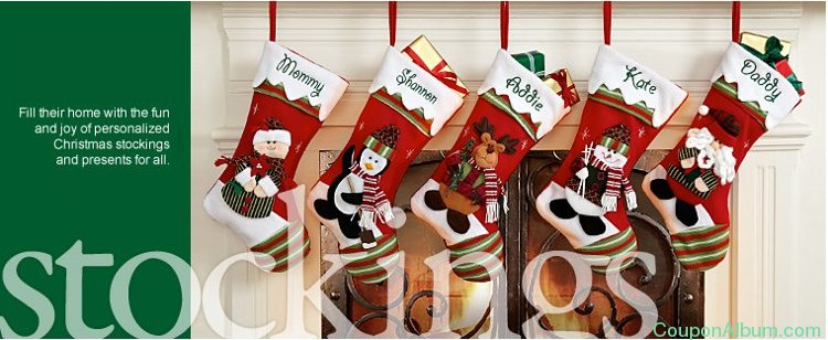 personal creations coupon off winter stockings friday wonderland