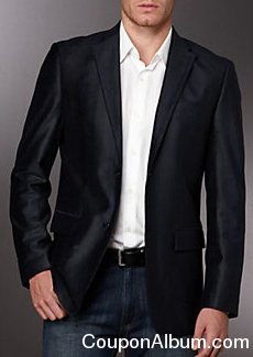 perry ellis slim velvet jacket