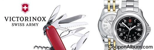 swiss army watches and knives