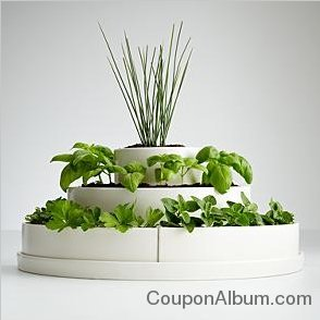 three tier herb planter