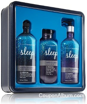 Bath & Body Works Signature Collection Sleepy Time Gift Tin
