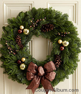"Bronze Collection – 22"" Wreath"