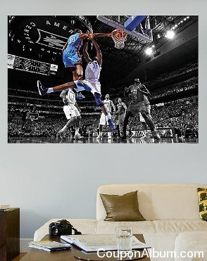 Kevin Durant Dunk Mural