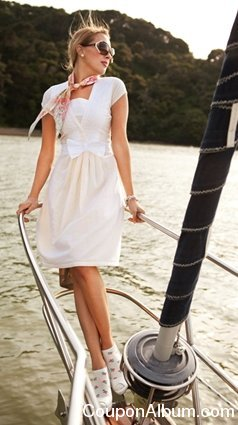 Lighthouse White Voile Dress
