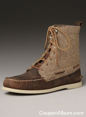 Sperry Top Slider Wool Boot