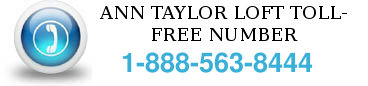 ann taylor toll free number