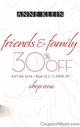 anne klein friends & family