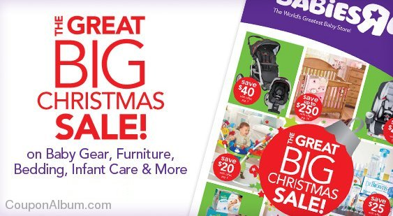 Shop Babies R Us The Great Christmas Sale To Save Big On Baby Gear Furniture More Online