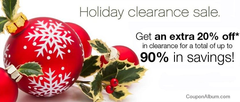 beauty encounter holiday clearance sale
