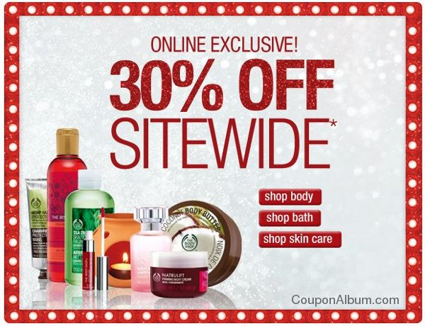 body shop holiday savings