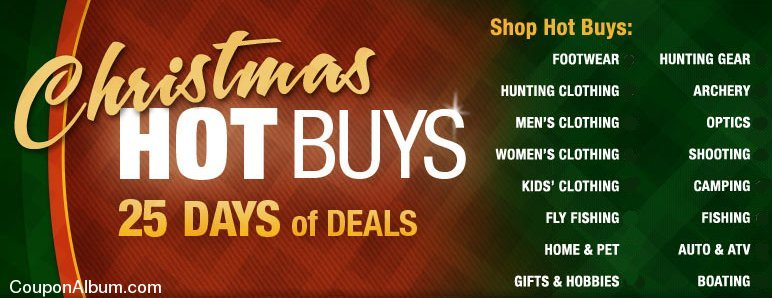 cabela's christmas hot buys