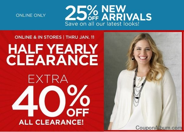catherines half yearly sale