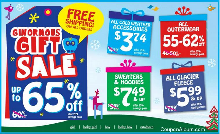childrens place ginormous gift sale