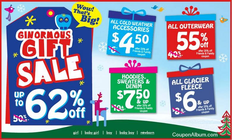childrens place ginormous sale