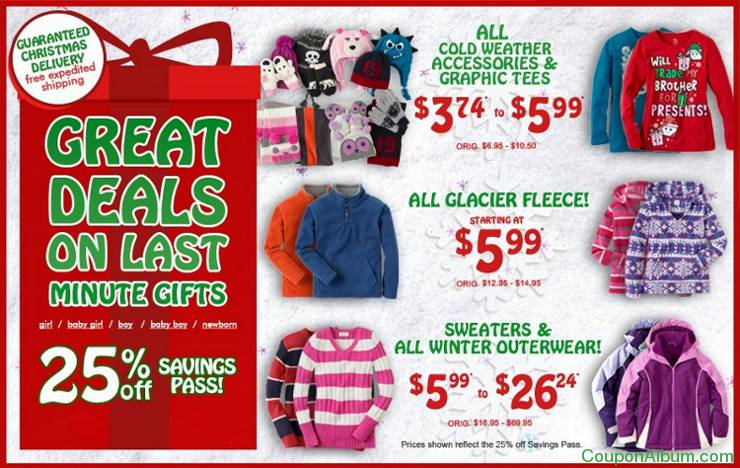 childrens place great deals