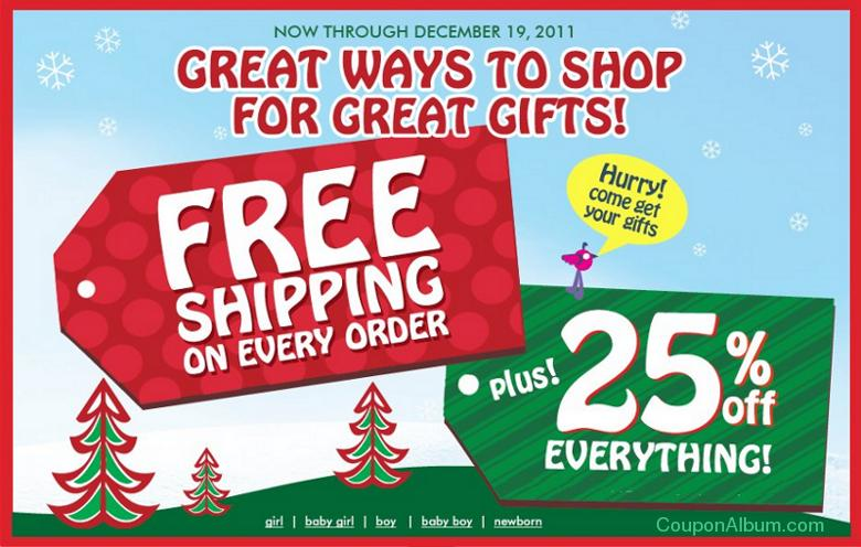 childrens place holiday savings