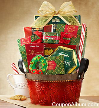 comfort-n-joy sweet treats gift basket