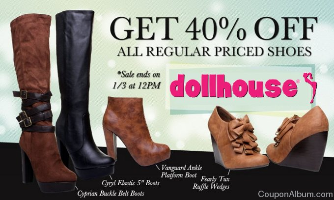 dollhouse shoes