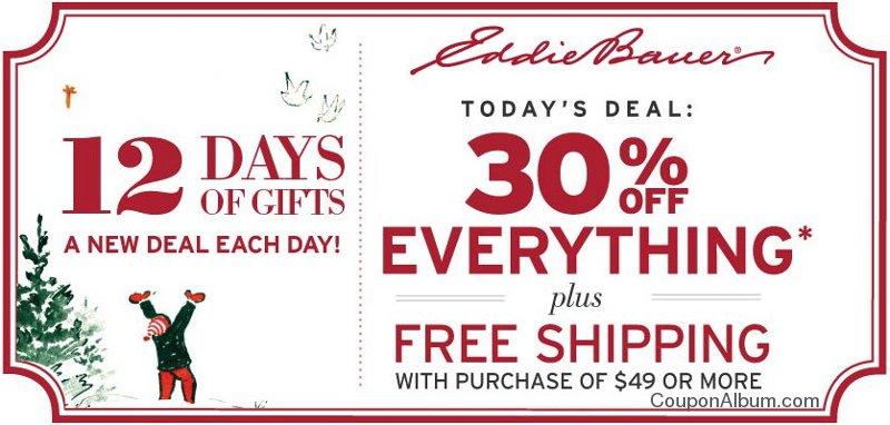 eddie bauer coupon promo codes