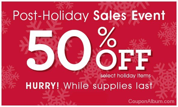 fannie may post-holiday sale