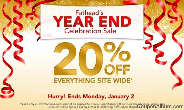 fathead sale