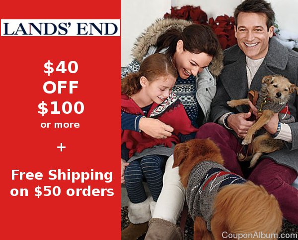 lands end coupon