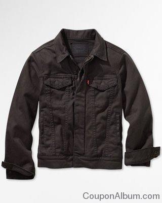 levis Boys Zipped Trucker Jacket