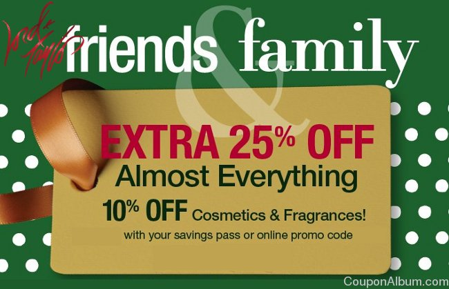 lord and taylor friends and family