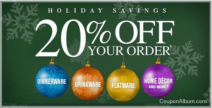 mikasa holiday coupon