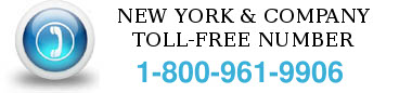 new york & company toll free number