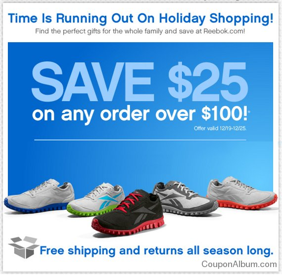 reebok holiday coupon