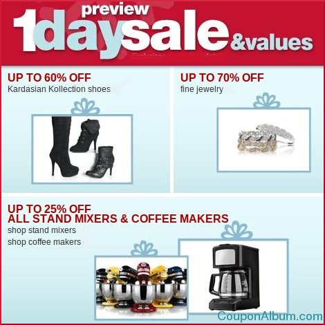sears sales and values