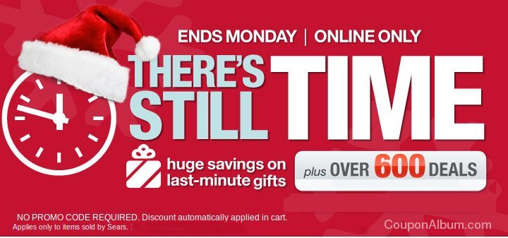 sears theres still time sale