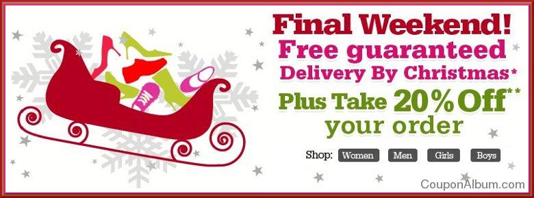 shoes.com christmas offer