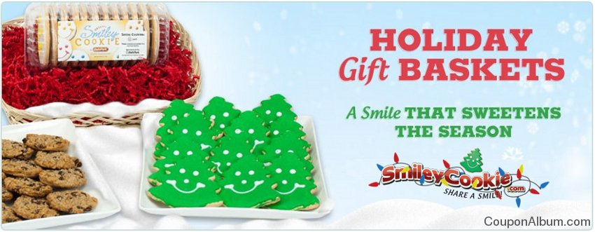 smiley cookie holiday gifts