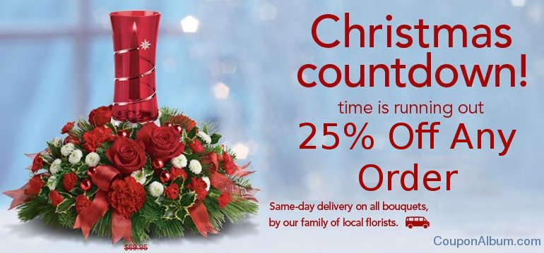 teleflora holiday offer