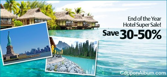 travelocity end of the year hotel super sale
