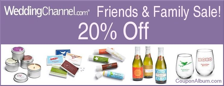 wedding-channel-store-friends-family-sale